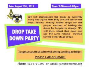 Drop Storage Party (8-25-18)