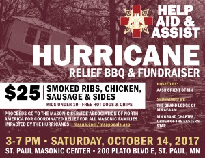 HURRICANE RELIEF BBQ
