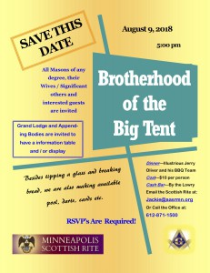 Scottish Rite - Brotherhood of the Big Tent