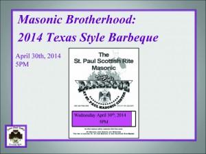 BBQ April 30th, 2014