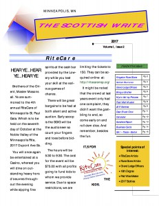 The Scottish Write - eNewsletter (2nd Issue 1a)