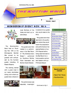 The Scottish Write - eNewsletter (4th Issue)