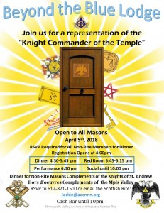 2018 April Membership Event - Rev A